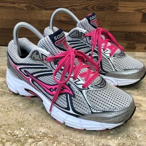 SAUCONY Women's Grid Cohesion Running  Wide 7.5